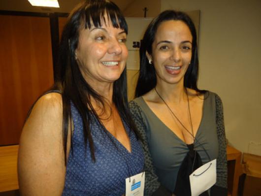 Adriana Seara e Juliana Seara (Assessa)
