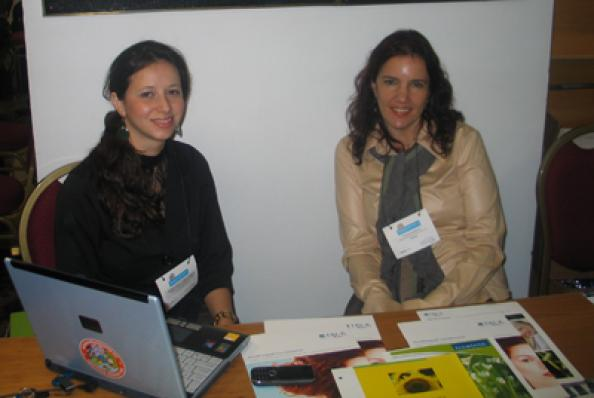 Mariana Storelli e Juliana Pimenta (Cosmotec)