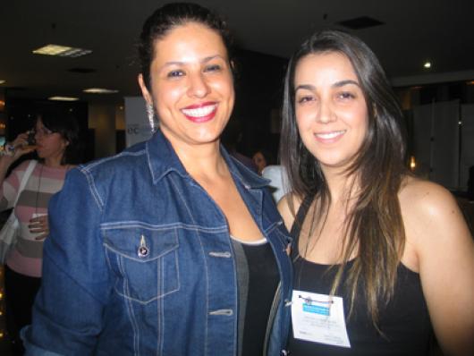 Juliana Caires (Maxibrasil) e Anna Paula Brina (Mutari)