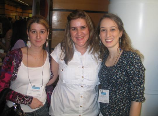Juliana Batistela, Monica Batistela (Le Sorelle) e Natalia Marin Siena (Skin Lab)