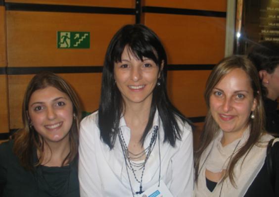 Fernanda Z. Senatore, Sintia A. Martins (M.Cassab) e Patricia A. Saslavsky (Veer Cosméticos)