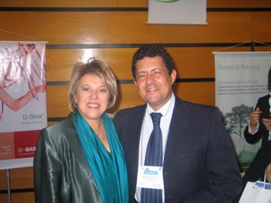 Maria Rita (Valmari) e José Armando Amarante (Solabiá)