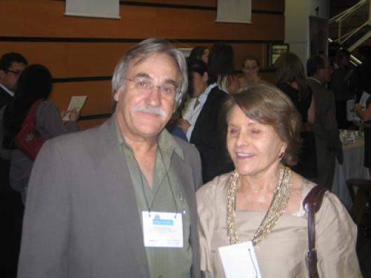 Cesar Fernandes (Color Play) e Edesia Gaião (Cosmetics & Toiletries Brasil)