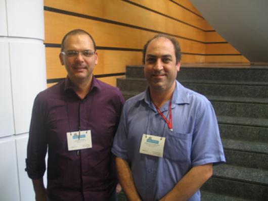Claudio Ribeiro (Avora Cosméticos) e Prof. André Luiz A. Brandão (Univ. São Camilo)