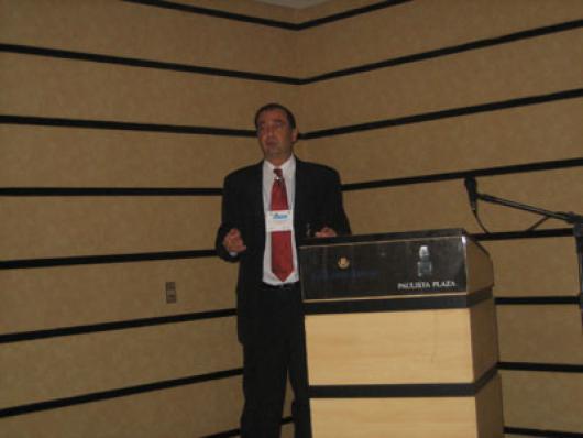 Palestra de abertura - Desafio e Oportunidades no Comércio Exterior. Eduardo Rosanova