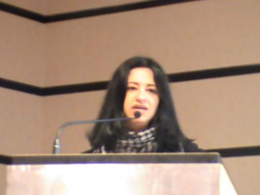 Vera Tonon, da Lubrizol apresentou o